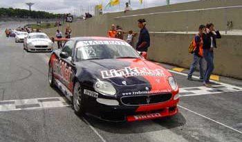Trofeo Maserati: Alencar Jr. vence em Curitiba e chega à liderança