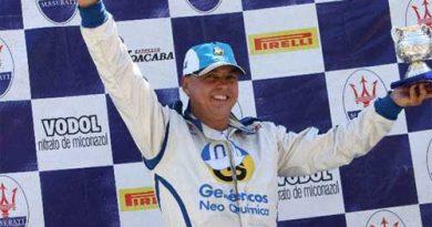 Troféu Maserati: Alencar Jr. é campeão da temporada por antecipação