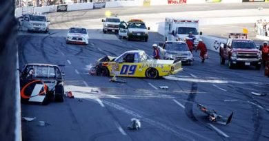 Truck Series: Skinner vence prova acidentada em Martinsville
