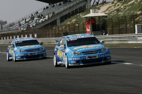 WTCC: Chevrolet surpreende a domina a primeira fila em Zandvoort