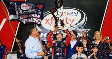 NASCAR XFINITY Series: Cole Custer vence em Homestead. William Byron conquista o título