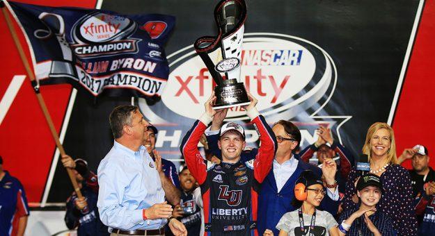 NASCAR XFINITY Series: Cole Custer vence em Homestead. William Byron conquista o título