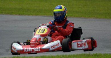 Mundial de Kart: Carioca conquista a pole position em Guaratinguetá