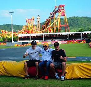 Desafio Internacional das Estrelas: Encontro inédito de Senna/Fittipaldi/Piquet