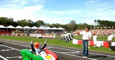 Desafio Estrelas: Michael Schumacher vence a primeira corrida