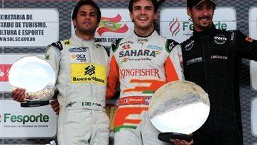Desafio das Estrelas: Felipe Nasr vence segunda prova. Jules Bianchi é o campeão