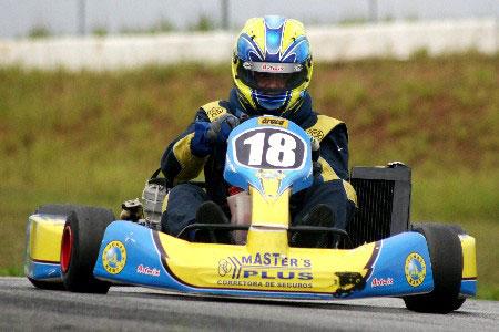 Kart: Francisco Weiler, um estreante com muito talento
