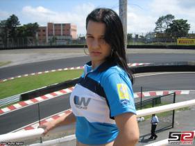 Informações: São Paulo já conheceu a primeira Garota SpeedRacing.com.br de 2008