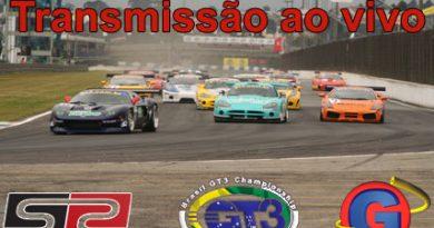 Informação: Transmissão ao vivo da etapa de Brasília da GT3