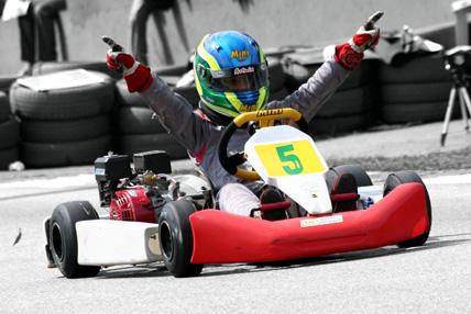 Kart: Duas vitórias, três melhores voltas e duas poles é o saldo da Kart Mini na última etapa do Light