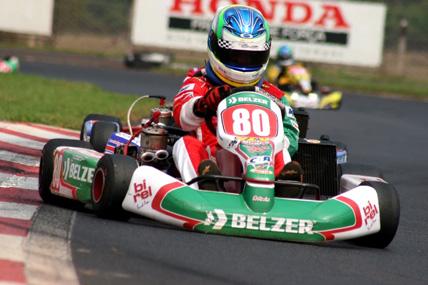 Kart: Felipe Fraga fica em terceiro na Copa Brasil e quer mais um Capacete de Ouro