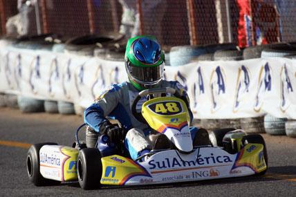 Kart: Lucas Foresti encara, neste sábado, rodada dupla da Copa SP Light
