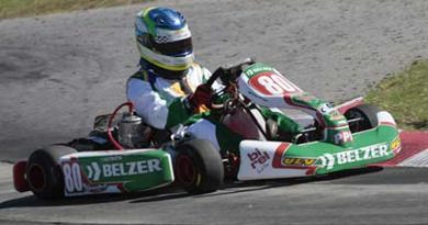Kart: Suposta irregularidade técnica tira tetra de Felipe Fraga