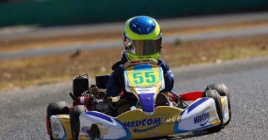 Kart: Após pole, Luiz Branquinho teve problemas na Copa Centro-Oeste de Kart