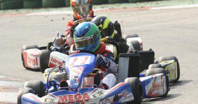 Kart: Mega Kart comemora vitória e liderança da Copa SP Light