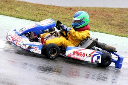 Kart: Mega comemora nova vitória de Lukas Moraes, agora na Granja Viana