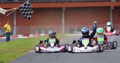 Kart: Show dos pilotos na quarta etapa do Paulista de Kart