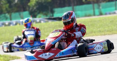 Kart: Após pole-position, Paulo Grassi termina em terceiro no Troféu Codasur