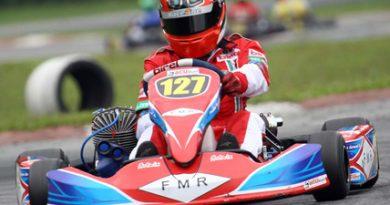 Kart: Em prova de recuperação, Paulo Grassi termina em 5º no Light