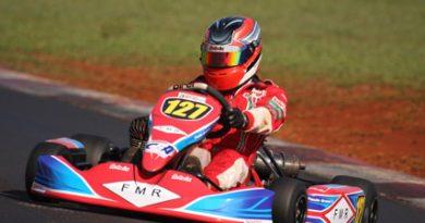 Kart: Paulo Grassi é o pole da Copa Brasil de kart