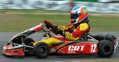 Kart: Faltou muito pouco para a classificação de Pipo Derani na Copa Petrobras Sorriso Campeão