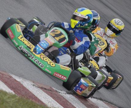 Kart: Renan Gama soma pontos importantes na 5ª etapa da Copa SP Light de Kart