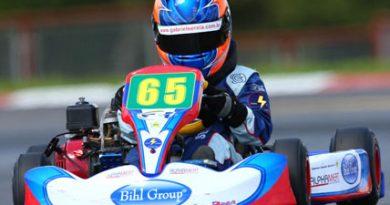 Kart: Gabriel Sereia crava a pole position e vence primeira eliminatória