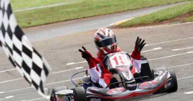 Kart: Yuri Cesário vence em casa, na Copa Centro-Oeste