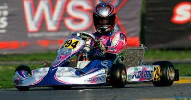 Kart: Pietro Fantin disputa Open do Velopark em preparação para o Pan-Americano