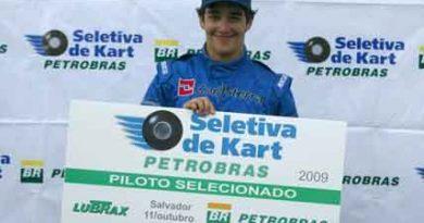 Kart: Matheus Protti vence na Bahia e fica com a última vaga na Seletiva