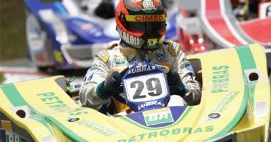 Kart: Luciano Burti busca novo pódio em evento de kart com estrelas da F-1