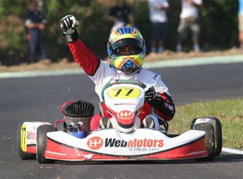 Kart: Felipe Guimarães conquista o tri no Pan-Americano na categoria Sudam