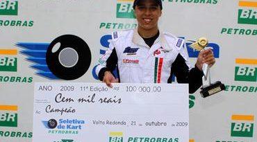 Kart: Em Volta Redonda, Seletiva faz campeão mais jovem da história: Jonathan Louis