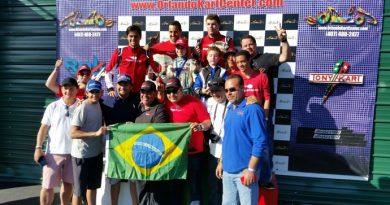 Kart EUA: Enzo Fittipaldi vence cinco provas em Orlando
