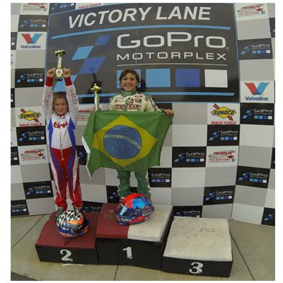 Kart EUA: Enzo Fittipaldi é campeão nos Estados Unidos