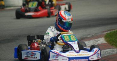 Kart: João Manuel treina bem e pode brigar pelo título na Cadete