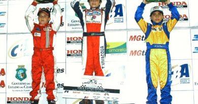 Kart: João Manuel comemora 3º lugar em uma categoria com 46 concorrentes