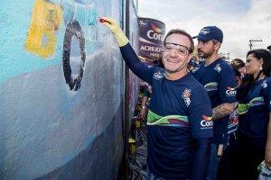 Kart Nacional: Kartódromo Granja Viana ganha pintura em parceria do projeto