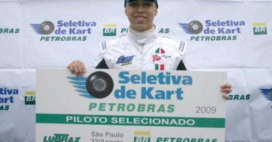 Kart: Jonathan Louis é finalista da Seletiva Petrobras de Kart