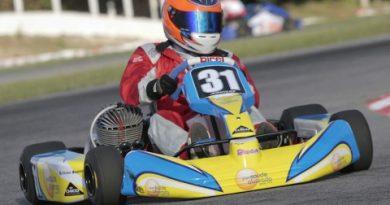Kart: By Chico decepcionada com motores da cadete. E alegre com Victor Bastos