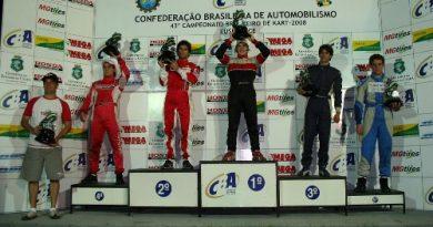 Kart: Conhecidos os seis primeiros Campeões Brasileiros de kart de 2008