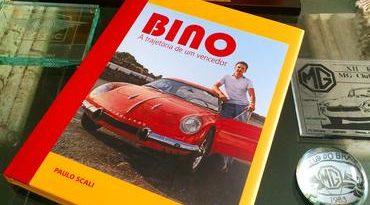 Manhã de autógrafos no livro BINO - A trajetória de um vencedor Autor Paulo Scali estará presente j