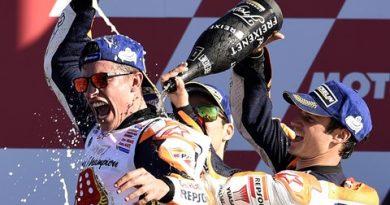 MotoGP: Dani Pedrosa vence GP de Valência. Marc Márquez conquista o título