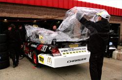 Nascar Sprint Cup: Chuva impede treino classificatório