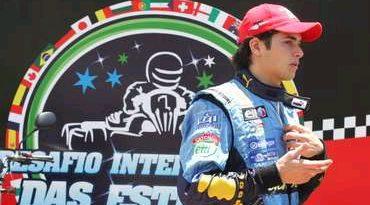 Kart: Nelsinho Piquet parte da segunda fila no Desafio Internacional das Estrelas