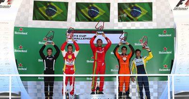 Porsche Império GT3 Cup: Miguel Paludo vence preliminar do GP Brasil de F1 e Rodrigo Baptista confirma o título de Sprint
