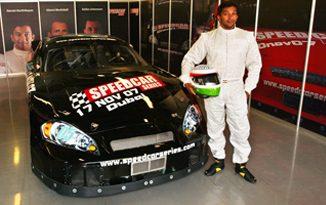 Speed Cars Series: Narain Karthikeyan testa em Dubai