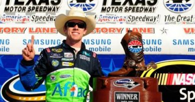 Nascar Sprint Series: Carl Edwards vence a terceira no ano