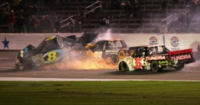 Truck Series: Ted Musgrave vence prova com final acidentado no Texas