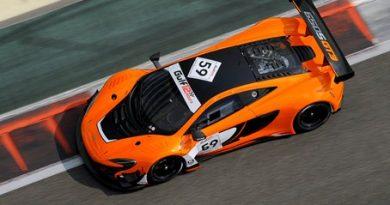 12 Horas de Abu Dhabi: Trio da McLaren marca a pole em Yas Marina